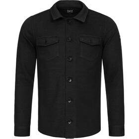 super.natural Knit Jacket Men, jet black